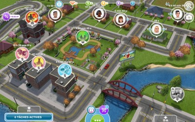Les Sims FreePlay Simville