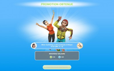 Les Sims FreePlay Evolution Personnage