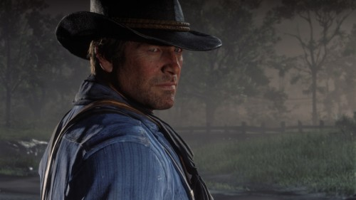 Arthur Morgan dans Red Dead Redemption II