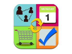 Family Organizer: Shared ToDo+Calendar+Grocery Lists