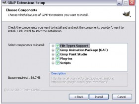 GIMP Extensions Pack for Windows