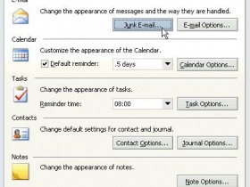 Microsoft Junk Email Filter for Outlook 2003