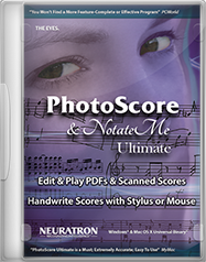 PhotoScore & NotateMe