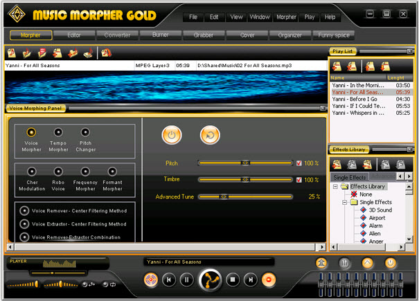 V5.0.41 TÉLÉCHARGER GOLD AV MORPHER MUSIC