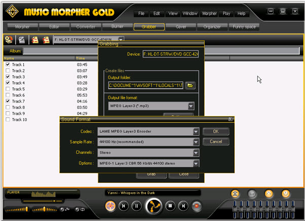 V5.0.41 MORPHER GOLD MUSIC TÉLÉCHARGER AV